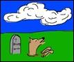 hund_begraven
